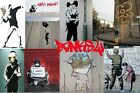 Banksy Collage Collection Art Poster A4 A3 A2 A1 Gift Present OC0150