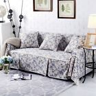 Floral Cotton Linen Slipcover Sofa Cover oAUl Protector for 1 2 3 4 seater lcfq