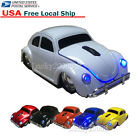 US Beetle Car 2.4GHz Wireless Optical Mouse Mice for PC Laptop Mac +USB Receiver
