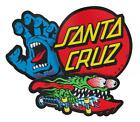 SANTA CRUZ Sew on Skateboard Patch Set - Assorted Logos  Screaming Hand, Slasher