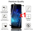 Samsung Galaxy S9 S8 S10 Plus Case Friendly Real Tempered Glass Screen Protector <br/> 3D Curved✔️S8 S9+ Screen Guard✔️9100+ Sold✔️Top Quality