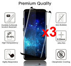 For Samsung Galaxy S9 S8 Plus Case Friendly Real Tempered Glass Screen Protector <br/> 3D Curved✔️S8 S9+ Screen Guard✔️4400+ Sold✔️Top Quality