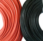 Flexible Soft Silicone Wire Cable 12/14/16/18/20/22 AWG Red, Black High Quality