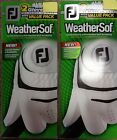 FOUR (4) NEW FootJoy WEATHERSOF Golf Gloves,  PICK A SIZE,  #1 Glove