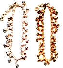 ANKLET - INDIA BELLS - CHOOSE FROM GOLD OR SILVER DIPPED-GREAT FOR BELLY DANCERS