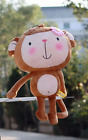 Plush toy stuffed doll cute monkey lovers valentine's day youth present gift 1pc