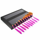 Soft Oval Cream Puff Cosmetic Toothbrush Shaped Power Makeup Foundation Brushes-