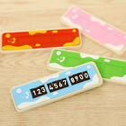 Car Parking Temporary Notification Card Puzzle Telephone Number Plate Set New