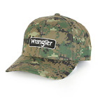 Men's Wrangler Steer Logo Embroidery MWC206M CAMO Cap-NO TAX SELL+FREE SHIPPING