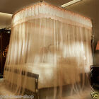 mosquito net U-shape frames bed valances telescopic tube bed netting canopy lace