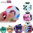Fidget Cube*Spinner Toy Children Desk Toy Adults Stress Relief Cubes ADHD Ball