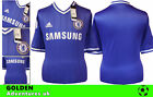 *13 / 14 - ADIDAS ; CHELSEA HOME SHIRT SS / PERSONALISED = SIZE*