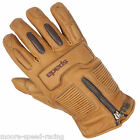 Spada Rigger Leather Motorcycle Gloves at Bournemouth Shop vintage retro style