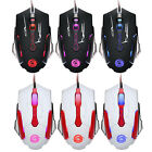 4000DPI LED Optice 6D Professional Cable Players USB Wired Gaming Mouse PC Mouse