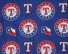 Texas Rangers Dog Bandana MLB Dog over the collar / New design