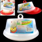 1 Cake Tray Cover Carrier Saver Pie Portable Dessert Holder Container Plastic