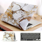 "2in1 Gold Marble Griotte Matte Case for MacBook 12"" Air Pro 11""13"" 15"" Touch Bar"
