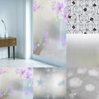 Sale Waterproof Frosted Privacy Home Window Glass Film Sticker Self Adhesive HYE