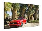 Red Ford Mustang Gt 5 Gallery Giclee Canvas Wall Art +More sizes