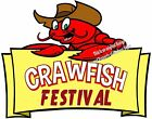 Crawfish Festival DECAL (CHOOSE YOUR SIZE) Seafood Food Truck Concession Vinyl