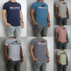 NWT HOLLISTER Applique Logo Graphic Men T Shirt Tee By Abercrombi?e All Sizes