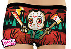 Harebrained Period Boyshorts Camp Blood Horror Geek Womens Underwear Novelty
