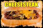 DECAL (Choose Your Size) Cheesesteak Food Truck Sticker Restaurant Concession