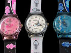 Fun Fashion Watch for Teenagers FISH BONE Design in Pink White or Blue FREE Post