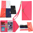 Luxury PU Leather Magnetic Flip Wallet ID Card Slot Case Cover For Various Phone