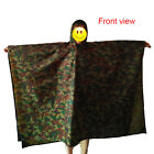 Camping Hiking Rain Cover One-Piece Raincoat Poncho Cape Travel Outdoor
