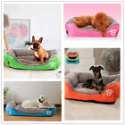 Large Dog House Pet Bed Cozy Soft Cushion Mat Pad Cat Cage Kennel Crate Warm