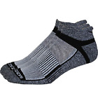 Saucony Mens Inferno No Show 3-Pack Running/Athletic Socks, All Sizes, New-Gray