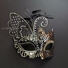 Black Gold Rome & Inspired Butterfly Masquerade Halloween Ball Party Mask