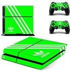 Adidas PS4 Skin Stickers Vinyl Decal For Sony Playtation 4 Console And Two Ds4