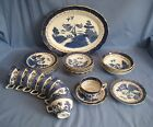 Booths Real Old Willow Tableware - VARIOUS ITEMS AVAILABLE - EXC COND