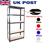 5 Tiers 1.8M 875Kg Separable Metal Racking Shelving Shelves Storage Garage Unit