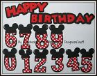 Paper Piecing Mickey Minnie Mouse Birthday Disney Scrapbook Layouts CraftECafe