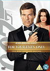 James Bond 007 For Your Eyes Only 2 Disc DVD Ultimate Edition New Sealed £3.99 GBP