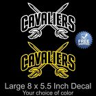Cleveland Cavaliers Vinyl Decal/Sticker Large 8 x 5.5 Inch - Free Standard SH on eBay