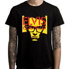 New Elvis Costello 2,5 Year English Musician Men's Black T-Shirt Size S to 3XL