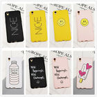 Cute Funny Pattern Soft Silicone Rubber TPU Case Cover For iPhone 6 6S 7 Plus