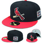 New Era St. Louise Cardinals 5950 Fitted Hat MLB 2006 World Series Alternate Cap