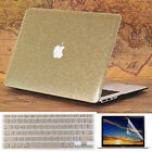 "3in1 Gold Glitter Bling Crystal Shiny Case for MacBook Air Pro 13"" 15"" Touch Bar"