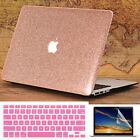 "3in1 Rose Gold Glitter Bling Crystal Case for MacBook Air Pro 13"" 15"" Touch Bar"