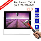 10Pcs 9H Real Saver Tempered Glass Film Screen Protector For Lenovo Tab 2/ Tab 3
