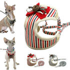 Mesh Padded Dog Harness and Lead Leash Breathable for Small Medium Dog Chihuahua