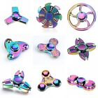 Fidget Spinner Rainbow Metal Hand Spinner EDC Fingertip Gyro Anti Stress Toys