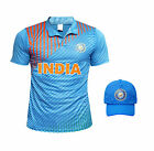 Indian Cricket 2017 T Shirt Jersey Cap T20 Worldcup - Love India
