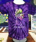 DANCING FISH 100% COTTON TODDLER SHIRTS, Jamie Hayes, Tie Dye, NEW ORLEANS