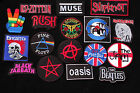 Music Bands Sew/Iron Patches - 20 Different Types To Choose From - Music - Goth